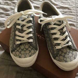 Coach tennis shoes, Francesca, size 8.5